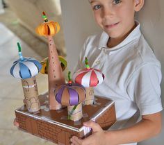 A school of fish: St. Basil's Cathedral Models