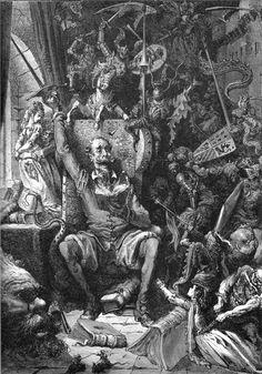 Paul Gustave Doré (1832 – 1883) artista francés, pintor, escultor e ilustrador,  destacan sus trabajo para El ingenioso hidalgo don Quijote de la Mancha, la Biblia y La Divina Comedia.