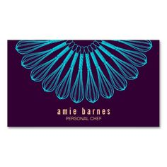 206 best catering business cards images on pinterest in 2018 culinary chef blue whisk logo purple catering business card reheart Image collections
