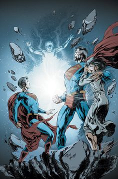 Adventures Of Superman #649 cover by Ivan Reis & Marc Campos