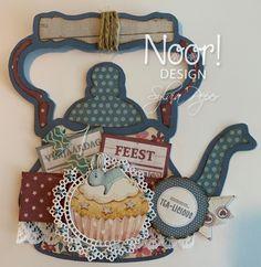 Marianne Design, Diy Cards, Washi, Box, Tea Pots, Shapes, Christmas Ornaments, Holiday Decor, Ketel