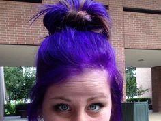 Pravana violet. The BEST hair color for purple hair I've used.