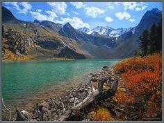 Горный Алтай, Катунский хребет, Катунский государственный природный биосферный заповедник, Мультинские озёра