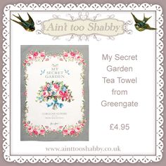 Tea towel by Greengate  <3