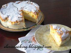 Γλυκό Ροδάκινο - Λεμόνι με γέμιση Τυρί κρέμα
