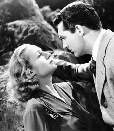 Carole Lombard and Cary Grant, In Name Only 1939.