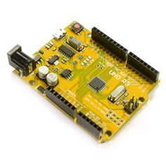 RepRap Champion UNO Yellow Style with Micro USB Connector Arduino Compatible Development Board for Hooby, Robotics, CNC Project Engineering Symbols, Engineering Technology, Technology World, Electronic Engineering, Electronic Kits, Hobby Electronics, Electronics Projects, Arduino Programming, Cnc Software