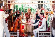 A Modern Hindu Wedding in Los Angeles | Over the Moon #OTMWeddings