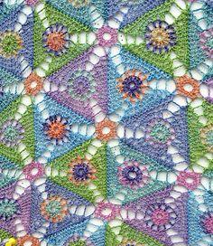 Plankton Crochet Scarf by Amanda Perkins
