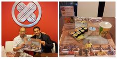 If you feel like having real traditional japanese sushi, don't hesitate to visit Yoshihiro at Takajo, who is happily supporting our table set campaign this month!   http://www.takajo.lu/ https://www.facebook.com/pages/TAKAJO/102505762462