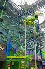 Zipline at the Mall of America.