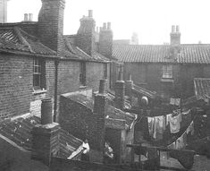 Old Nichol Slum, Shoreditch. In 1890, the London County Council called for the demolition of Old Nichol, and the construction of London's first social housing project. The block of flats that were erected around the area of Arnold Circus are still standing today...