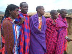 guerriers Masaï au Kenya