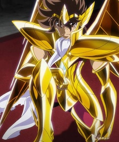 Seiya de Sagitario (Version Omega)