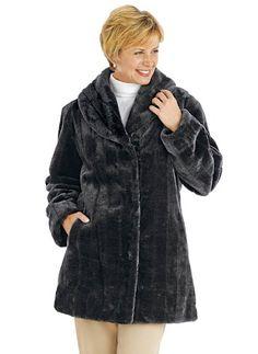TOPSELLER! Carol Wright Gifts Women's Fur Jacket $39.99