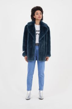 c56e379595a8 5 faux fur brands that look luxe - The best faux fur coats and accessories  Autumn