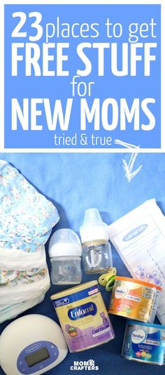 It's crazy how many free stuff for moms and babies you can get by mail! Here is a list of the freebies I got plus some other cool free baby things.
