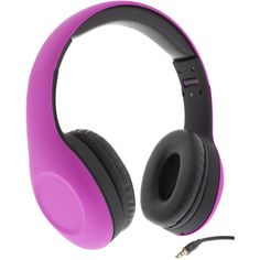 STREETZ headset rosa - TCProdukter.se Iphone Headset, Over Ear Headphones, Pink
