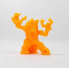 Monster In My Pocket - Series 2 - 70 Dryad - Neon Orange - Mini Figure