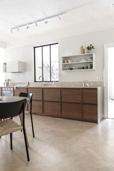 Kitchen Rules, Home Decor Kitchen, Kitchen Living, Interior Design Kitchen, New Kitchen, Wooden Kitchen, Küchen Design, Kitchen Styling, Cool Kitchens