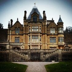 Tyntesfield House, Bristol. Gothic-revival. Owned by four generations of the Gibbs family. The fictional Sir Eustace Carmichael's and Dr Watson's London home in an episode of BBC TV's Sherlock' (The Abominable Bride) 2016.