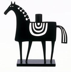 Swedish Horse  Tillverkare: Bengt & Lotta    Design: Lotta Glave/Bengt Lindberg    Ljusstake