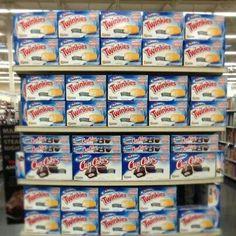 Twinkies. They're back, but not on my diet. Bye ol' friend.