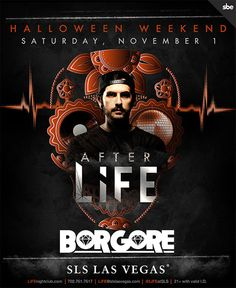 Enjoy a night of music with Borgore this Halloween Weekend at LiFE Nightclub inside SLS Las Vegas on Saturday, November 1st.