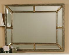 Envejecido Plata Espejo de pared rectangular 9 Biselado espejos rústicos o contemporáneo | Hogar y jardín, Decoración para interiores, Espejos | eBay!
