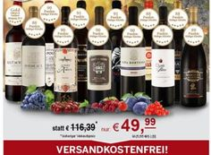 """Ebrosia: Best-of-Weinpaket mit zwölf Flaschen für 49,99 Euro frei Haus https://www.discountfan.de/artikel/essen_und_trinken/ebrosia-best-of-weinpaket-mit-zwoelf-flaschen-fuer-49-99-euro-frei-haus.php Bei Ebrosia ist ab sofort ein """"Best-of-Weinpaket"""" mit den """"beliebtesten Weinen der letzten Monate"""" für 49,99 Euro frei Haus zu haben. Ursprünglich haben die zwölf prämieren Flaschen mehr als das Doppelte gekostet. Ebrosia: Best-of-Weinpaket mit zw�"""