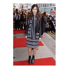 Beautiful!! @gemma_chan wears Markus Lupfer AW16 to the opening night of 'Doctor Faustus' in London last night  #gemmachan #markuslupfer #aw16 #beauty!
