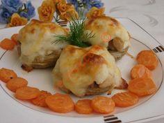 Beşamel Soslu Tavuklu Enginar Tarifi Sushi, Shrimp, Salsa, Menu, Breakfast, Ethnic Recipes, Food, Essen, Menu Board Design