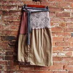 Diy Clothing, Sewing Clothes, Ropa Upcycling, Wrap Skirt Tutorial, Altered Couture, My Style, Outfit, Skirts, How To Wear