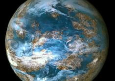 Earth like planets | Still from video: An illustration of an Earth-like planet.