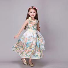 $23.99 (Buy here: https://alitems.com/g/1e8d114494ebda23ff8b16525dc3e8/?i=5&ulp=https%3A%2F%2Fwww.aliexpress.com%2Fitem%2FNew-Fashion-2016-Girls-Summer-Chiffon-Sleeveless-Beach-Bohemian-Long-Princess-Dresses-Baby-Girls-Dress-Kids%2F32676328093.html ) New Fashion 2016 Girls Summer Chiffon Sleeveless Beach Bohemian Long Princess Dresses Baby Girls Dress Kids Teenage for just $23.99
