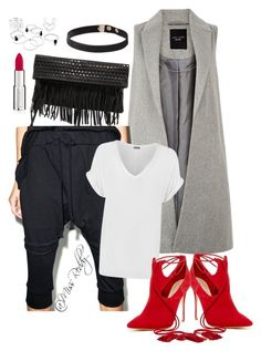 """""""Untitled #113"""" by missreddy on Polyvore featuring MNML, Ash, Schutz, WearAll and Givenchy"""