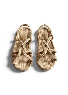 Free Shipping In Usa Handmade Jc Camel Rope Sandals By