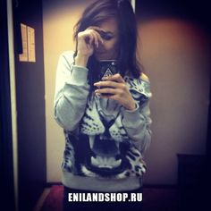 Свитшот на одно плечо от Enilandshop