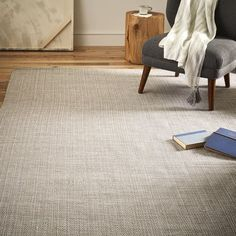 Solid Metallic Jute Rug - Platinum/Silver | Featuring a simple basketweave pattern, our Solid Metallic Jute Rug is handwoven of natural jute fibers and lurex for subtle shine + shimmer. Soft underfoot yet durable, it's great for entryways and family rooms with lots of traffic.