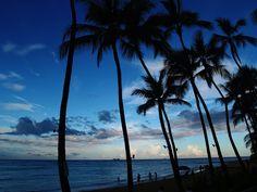 """A Balmy Waikiki Evening"" by videoal #flickr #hawaii #sunset"
