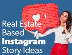 Build engagement, develop your brand, and generate more leads with these real estate Instagram story ideas. Get the most from your stories today. Instagram Story Ideas, Getting To Know You, Marketing Tools, Insta Story, Real Estate Marketing, Your Story, Fun Facts, Social Media, Engagement