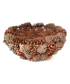 Another great find on #zulily! Pinecone Basket #zulilyfinds
