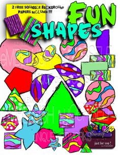 Shapes with curvy stripes, created by  rz aLEXANDER, eMBELLISH yOURSELF  aRTWORKS!   https://www.teacherspayteachers.com/Store/Rz-Alexander