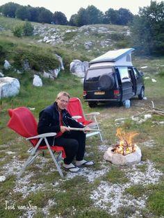 Campsite Mt. Pangeo - Kavala, northern Greece