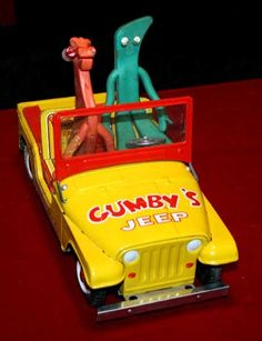Even Gumby loves Jeeps!