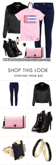 """""""rooted collections - OOTD #35"""" by rootedcollections ❤ liked on Polyvore featuring Ted Baker, Glamorous, Coach 1941, Marni, Thalia Sodi, Kate Spade, ootd and cuba"""
