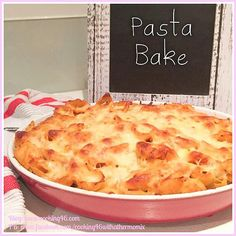 Cooking 4 6 with a Thermomix | How Did Pasta Bake Become A Winner? Find Out.