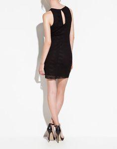 LACE TUBE DRESS - Dresses - TRF - ZARA United States