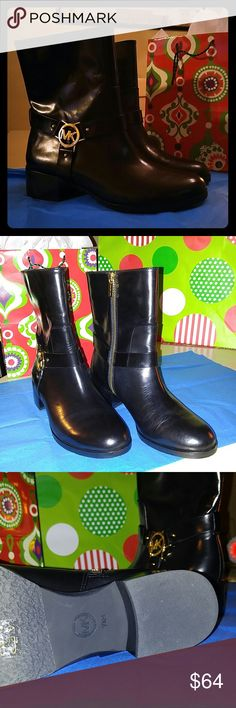 Michaels Kors Turner Leather Ankle Boots 7.5 M New, MK box not available Michael Kors Shoes Ankle Boots & Booties