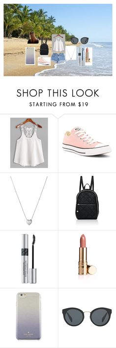 """""""Sometimes, it´s hot."""" by hereitsjustme on Polyvore featuring moda, Levi's, Converse, Links of London, STELLA McCARTNEY, Christian Dior, Kate Spade y Prada"""